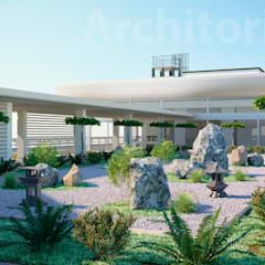 Conference Centres by Architoria 3D, Minimalist