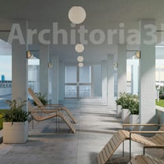 Evenementenlocaties door Architoria 3D