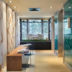 Espacios comerciales de estilo  por Jean Felix Arquitetura