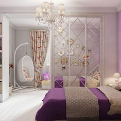 Girls Bedroom by Svetlana February