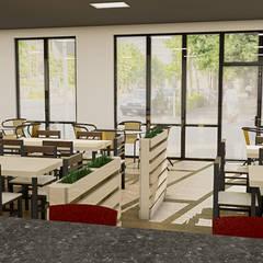 : Restaurantes de estilo  por Sixty9 3D Design