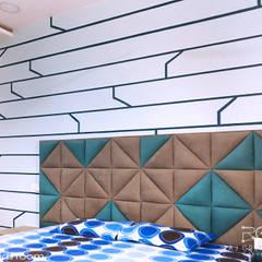 Mr. Dora's residency:  Bedroom by Raj Creation