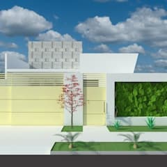 Small houses by Ricardo Cardoso, Tropical Concrete