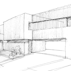 Construir vivienda unifamiliar en Madrid, arquitectura: Casas unifamilares de estilo  de Otto Medem Arquitecto vanguardista en Madrid
