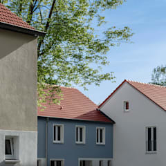 منازل التراس تنفيذ Hilger Architekten