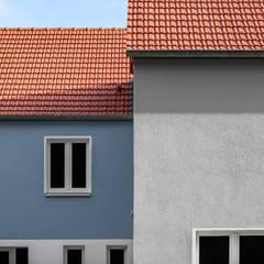 Projekty,  Dach szczytowy zaprojektowane przez Hilger Architekten