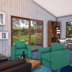 Proyecto Casa Corredor: Casas de campo de estilo  por L2 Arquitectura