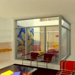Jardines de invierno de estilo  por José Melo Ferreira, Arquitecto