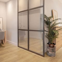 Glass doors by Basoa Decoración, Scandinavian