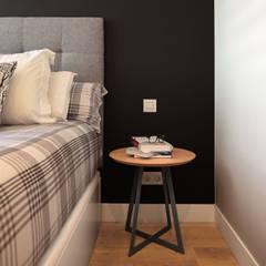 Reforma integral piso en Deusto - Vizcaya: Dormitorios pequeños de estilo  de Basoa Decoración