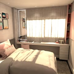Teen bedroom by Revisite, Modern