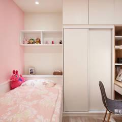 غرف نوم صغيرة تنفيذ 顥岩空間設計