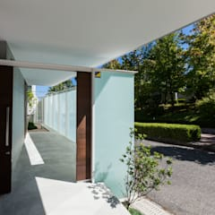Projekty,  Podwórko zaprojektowane przez スレッドデザインスタジオ