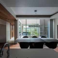 Snk-house: スレッドデザインスタジオが手掛けたダイニングです。,モダン