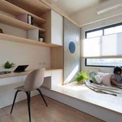 غرفة نوم تنفيذ Moooi Design 驀翊設計,