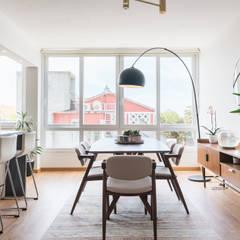 Casa Millennial Pink Salas de jantar escandinavas por Rima Design Escandinavo