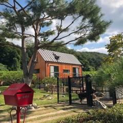 풍경채 (외관): 풍경우드테크의  목조 주택