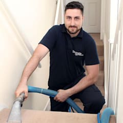 Professional Carpet Cleaning:  Stairs by Fantastic Cleaners Melbourne