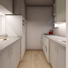Small kitchens by TuEstiloPuntoHome