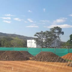 Casa unifamiliar en Jamundí: Casas unifamiliares de estilo  por Parámetro Arquitectura & Ingeniería,