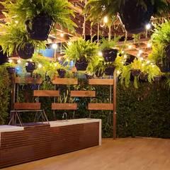 Casa unifamiliar en Girardot: Casas unifamiliares de estilo  por Parámetro Arquitectura & Ingeniería