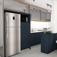 Muebles de cocinas de estilo  por Thais Kelm Arquitetura