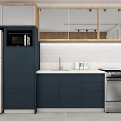 Kitchen units by Thais Kelm Arquitetura