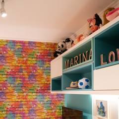 Dormitório RKP: Quartos de adolescente  por Bloco Z Arquitetura