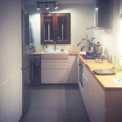 Built-in kitchens by Estudio1403, COOP.V. Arquitectos en Valencia,