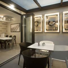 Hiên, sân thượng phong cách hiện đại bởi Soma & Croma Hiện đại