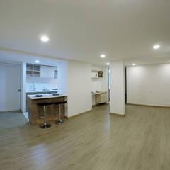 apartamento en Chia-Cundinamarca: Habitaciones de estilo  por TikTAK ARQUITECTOS,