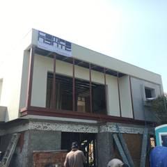 CASA CERRO SOMBRERO (EN CONSTRUCCION): Casas de estilo  por COMPONENTE
