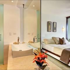 Kleine slaapkamer door UG ARQUITECTOS