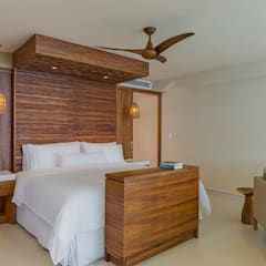 Small bedroom by Punto Cero , Tropical