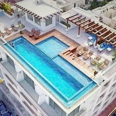Zwembad door UG ARQUITECTOS