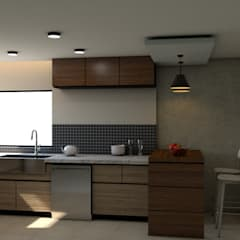 Small-kitchens by Miguel Mayorga