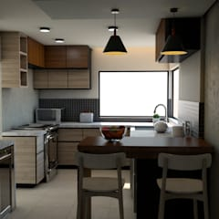 Small kitchens by Miguel Mayorga