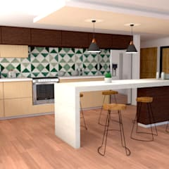 Built-in kitchens by Miguel Mayorga,