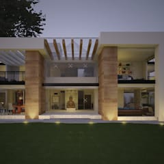 Passive house by JR ARQUITECTOS,