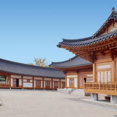 Деревянные дома в . Автор – 성종합건축사사무소