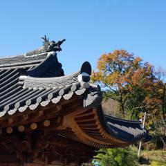 합천이씨종가 - 전통한옥: 성종합건축사사무소의  지붕,한옥