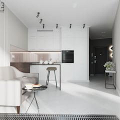 Small kitchens by L.E.DESIGNINTERIOR