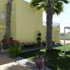 Hoteles de estilo  por MSM Estudio