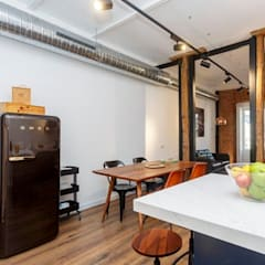 Apartamento turístico en La Latina: Comedores de estilo  de GARMA+ZAMBRANO Arquitectura