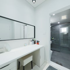 양평 문호리 단층주택: 바른주택의  드레스 룸