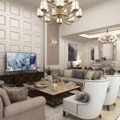 Bilgah Villa - Baku / Azerbaycan Eklektik Oturma Odası Sia Moore Archıtecture Interıor Desıgn Eklektik Mermer