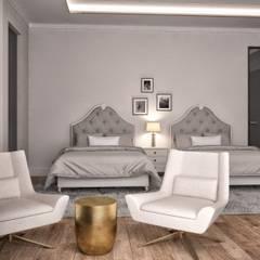 Minimalismo Design – Onur Life Esenyurt:  tarz Küçük Yatak Odası