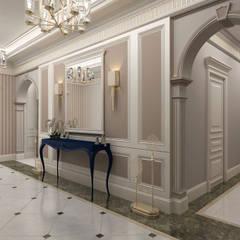 Sia Moore Archıtecture Interıor Desıgn – Bilgah Villa - Baku / Azerbaycan:  tarz Koridor ve Hol, Eklektik Mermer
