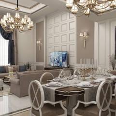 Sia Moore Archıtecture Interıor Desıgn – Bilgah Villa - Baku / Azerbaycan:  tarz Oturma Odası