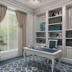 Study/office by Sia Moore Archıtecture Interıor Desıgn